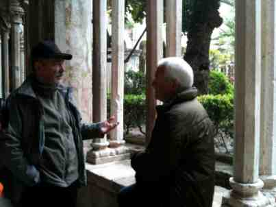 12. Don explaining shellfire- Dubrovnik