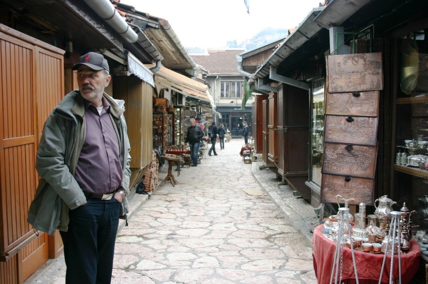 23. Don in the Sarajevo markets