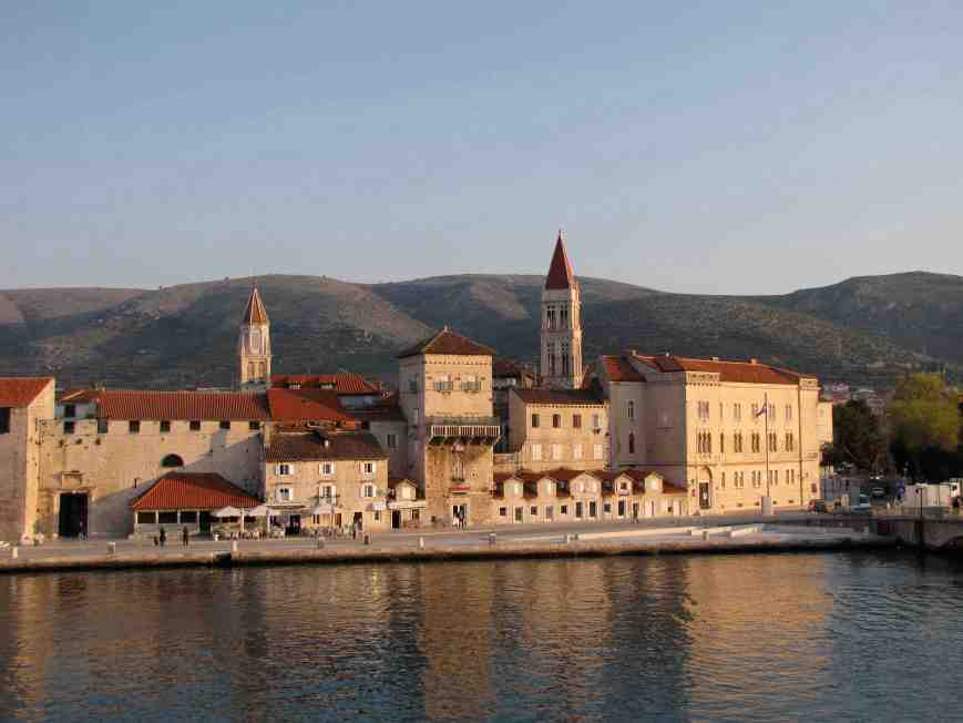 9. Trogir- more like coffee in the late sun